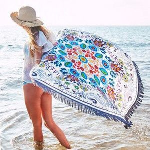 Other - Fringed  Round Mandala cover up/tapestry
